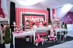 Minnie Mouse Polka dots Birthday Party Ideas | Photo 18 of 32 | Catch My Party