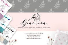Graciosa collection by Daria Bilberry on @creativemarket