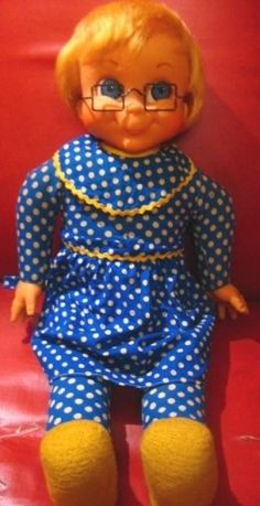 """Mrs. Beasley"" was my 1st and most favorite doll when I was little"