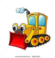 Cartoon Construction Trucks Stock Illustrations & Cartoons   Shutterstock