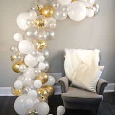 METABLE Pearl White, Chrome Gold Confetti Silver Glue Dots Decorating Strip Holiday, Wedding, Graduation, Anniversary – Garden & Home White Party Decorations, Hawaiian Party Decorations, Balloon Decorations, Birthday Decorations, Balloon Arch Diy, Balloon Garland, Ballon Arch, Balloon Display, White Baby Showers