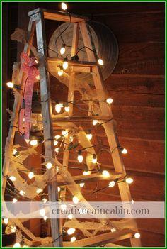 Creative Cain Cabin: Christmas Decorating on a Budget Idea #3