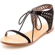 Image result for Dream Believer Sandal Dark Tan/Denim Leather