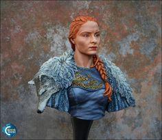 Sansa Stark | Coloured Dust