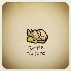 Turtle totoro