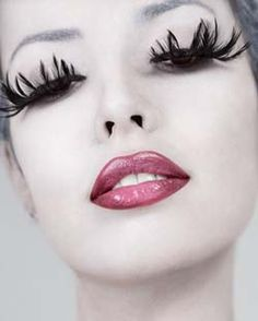 Fantasy Makeup   Feather Eyelashes: Makeup Tips For Beautiful Fantasy Looks