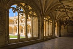 Cloister Vaulted Gallery in Mosteiro dos Jerónimos. Image by Dmitry Shakin / Getty images