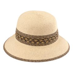 40a5076f54c Color Brim Paper Straw Hat With Ribbon Band (ST-507)