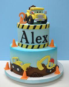 Contruction Pals Cake