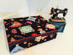 Sewing Box, Sewing Organize, Sewing Kit, Sewing Storage, Craft Supplies Storage Box, Tools Storage Box, Cartonnage Box
