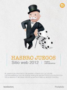 Con Hasbro tuvimos la oportunidad de trabajar su sitio web en el 2012.