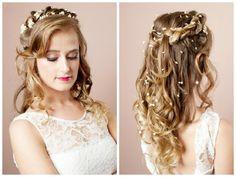 Penteado de noiva boho chic Mahara Alberttoni - Fotos Robson Chaves