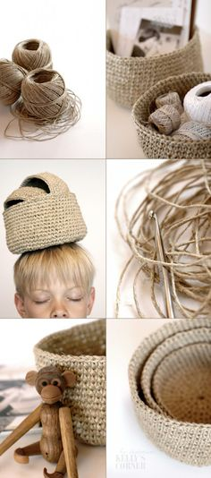 I will have to remember how to crochet - just so I can make these.