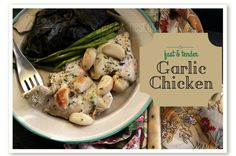 (S) THM Garlic Chicken: Gwen's Nest *FP or E with oil reduction