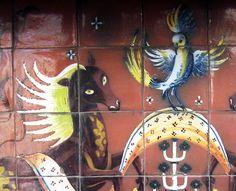 Tiles from Pelaria Pampas, Lisbon - Lucien Donnat.