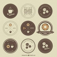 Retro cafeterías insignias                                                                                                                                                                                 Más