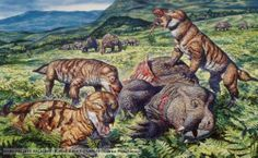 Millions of years before the Dinosaurs, relatives (and even Ancestors) of today's Mammals ruled the Earth.  *Image c. Mark Hallett.*