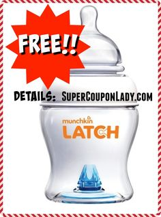 b7413f99d05c FREE Munchkin Latch Baby Bottle ($10.99 Value. Black Friday ...