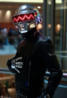 Daft Punk, photo by photognome.  Freaking amazing!  I want to do this for halloween!