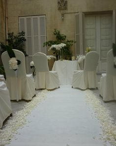 Decoración boda civil