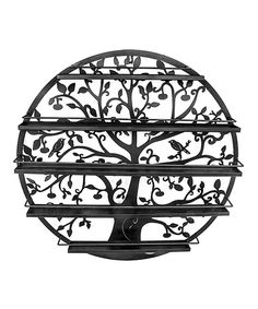 Look at this Black Five-Tier Nail Polish Rack on #zulily today!