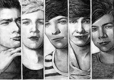 One Direction 2 by Csillipepper.deviantart.com on @deviantART