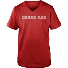 Cheer Dad- for the men who make their little girl's dreams come true!