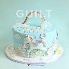 Unicorn Cake - Cake by guiltdesserts