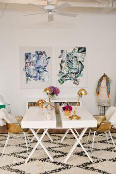Studio Tour of Margaret Elizabeth Jewelry // #decor #jewelry #studio // Photography by Andi Hatch