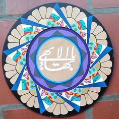 #bahaifriends #bahaifaith #bahaifaith #bahai #arte #art #masgrandenombre #bahaisimbol Baha I Faith, My Sims, Gods Love, Religion, Art Gallery, Photos, Pictures, Quilts, Stars