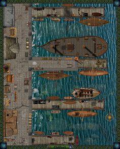 Old Port ( version 2 ) by Bogie-DJ.deviantart.com on @DeviantArt
