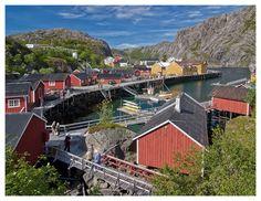 Lofoten im Nusfjord