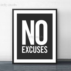 Canvas Art Quotes, Wall Art Quotes, Quote Wall, Typography Quotes, Typography Poster, Gym Decor, Wall Decor, Canvas Letters, Wall Canvas