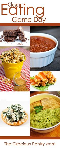 29 Game Day Recipes! Perfect for the Super Bowl!!! #cleaneating #superbowl