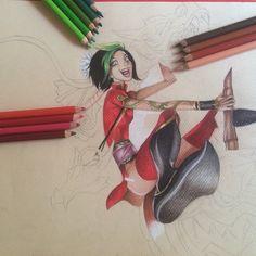 Jinx. #lol #jinx #firecrackerjinx #drawing #art