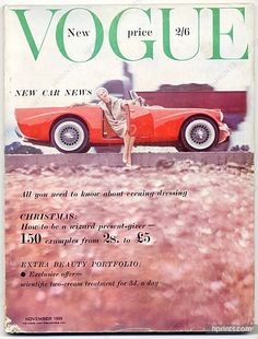 Vogue UK November, 1959