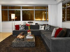 Modern Living Rooms from Pulp Design Studios : Designers' Portfolio 6018 : Home & Garden Television