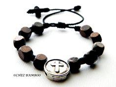 Rosary Bracelet MensKnotted Rosary BraceletBoys by ChezBamboo, $10.00