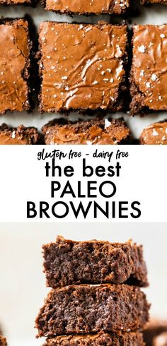 The BEST homemade Paleo Brownies from scratch! They're easy to make, just 6 in… before and after bread breakfast brownies The BEST homemade Paleo Brownies from scratch! They're easy to make, just 6 in… before and after bread breakfast brownies Paleo Brownies, Paleo Fudge, Fudge Brownies, Brownie Recipes, Paleo Recipes, Whole Food Recipes, Dessert Recipes, Paleo Desert Recipes, Baking Recipes