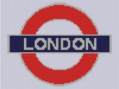 London Underground 2 Cross Stitch Patter