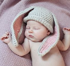 Hey, I found this really awesome Etsy listing at https://www.etsy.com/listing/156350572/easter-bunny-hat-baby-gift-newborn
