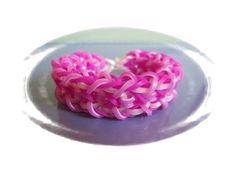 This is a hooked design. No loom needed. *Zuzu* WINTER'S TALE bracelet tutorial