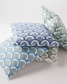 Kyoto Pillow Covers - Serena & Lily.  $68 retail.