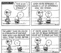 Peanuts Cartoon I love this.