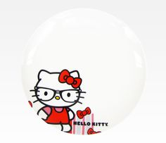 Totally getting a full set of these dishes. Ha - I love them. Hello Kitty Plate Set of 4: Nerd