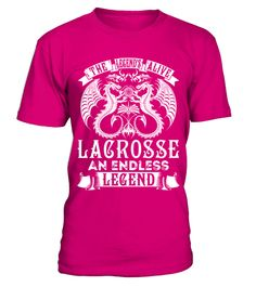 LACROSSE - Alive Name Shirts