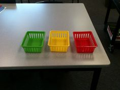 """Have students sort exit tickets on the way out the door by level of understanding. Visual way to check it they think they """"got it"""". Students also are self-assessing their understanding."""