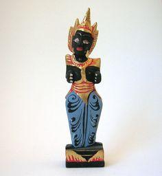 Vintage Statue  ~ miniature, sandplay, vintage, balinese