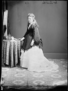 Mrs. George Laroche c. 1870-75  State Library of New South Wales Faces of the Victorian Era