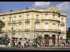 Places to see in ( Madrid - Spain ) Palacio de Linares #travelingram #instatraveling #travelingourplanet #travelingtheworld #lovetraveling #traveling #travel#worldtravel